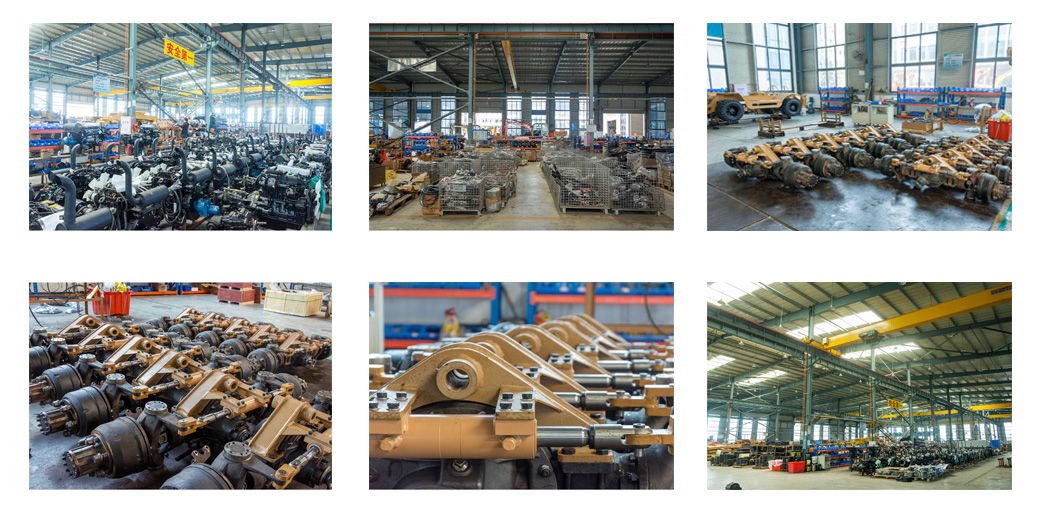 clean and ordered work shop of JingGong machinery for construction manufacturers
