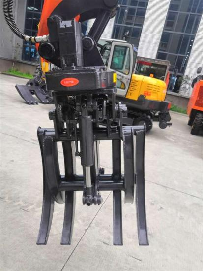 Jing Gong 95Z grapple excavator